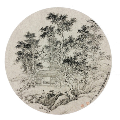 画家李圣峰作品欣赏,李圣峰工笔山水画,写意山水画,网